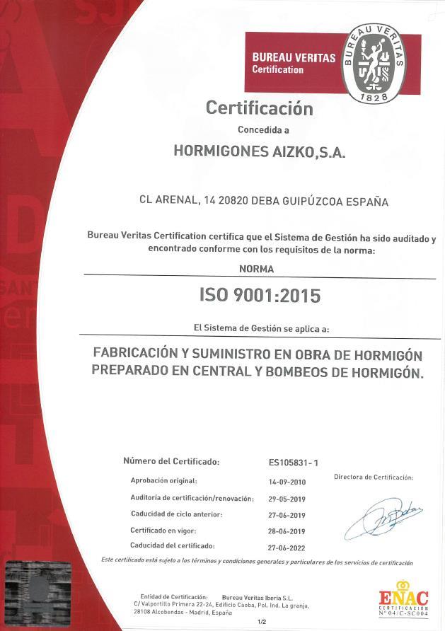 Certificado 2019-2022